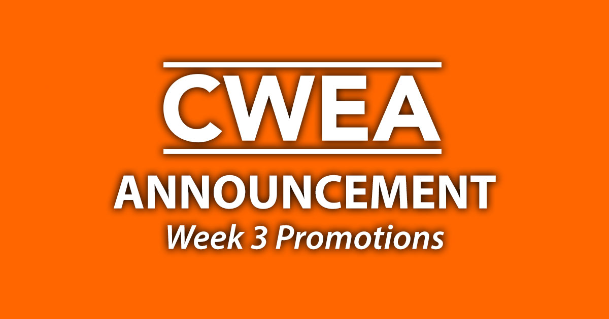 Special Announcement: Week 3 Promotions