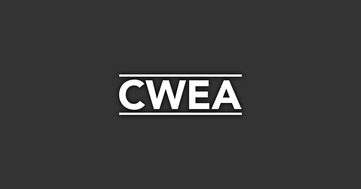 Public Statement from CWEA